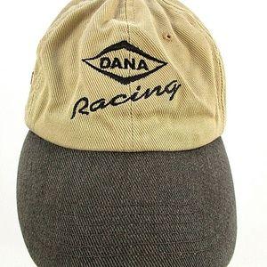 Dana Racing Nascar Baseball Cap Khaki Embroidered